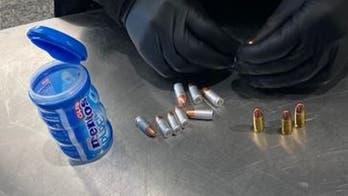 Traveler at NYC's LaGuardia airport had bullets inside gum container, TSA says