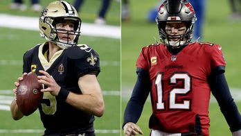Brady vs. Brees: A matchup for the ages and aged