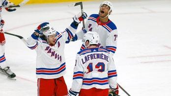 Lafreniere's 1st goal seals Rangers' 3-2 OT win at Buffalo