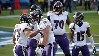 Ravens edge Titans in AFC wild card playoffs