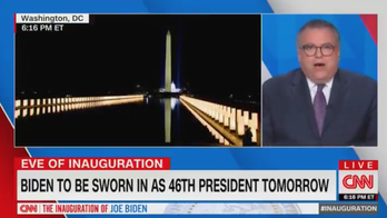 CNN political director: DC COVID memorial lights like 'extensions of' Biden's 'arms embracing America'