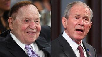 Bush remembers GOP megadonor Sheldon Adelson as a 'friend' and 'American patriot'