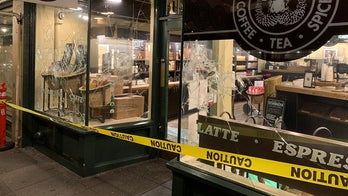 Seattle Antifa rioters damage first Starbucks in Biden protest
