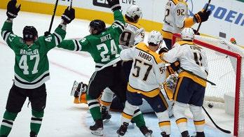 Stars tie NHL power-play record in 3-2 win over Predators