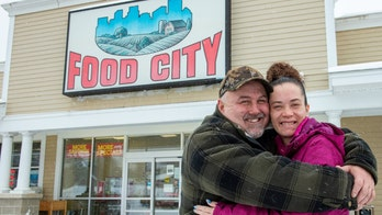 Maine couple donates thousands to supermarket staff after winning $1M on scratch-off lottery ticket