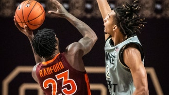 Radford helps No. 20 Virginia Tech beat Wake Forest 64-60