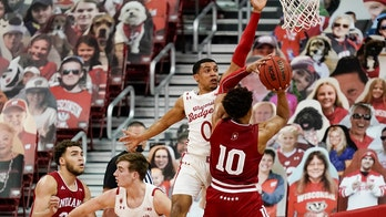 No. 8 Wisconsin outlasts Indiana 80-73 in double overtime