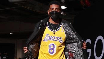Kyrie Irving wears Kobe Bryant Lakers' jersey ahead Nets, Heat game