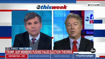 Sen. Rand Paul clashes with ABC's Stephanopoulos: 'You're forgetting who you are as a journalist!'