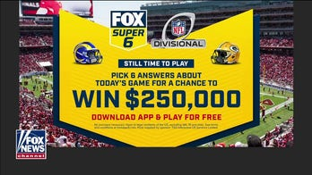 Fox Bet Super 6 offers two chances to win total of $500G in NFL Playoffs Divisional Round