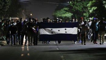 Migrant caravan in Honduras on the move in uncertain times