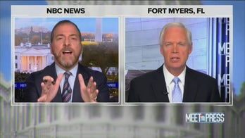 Sen. Ron Johnson calls out NBC's Chuck Todd for ignoring Hunter Biden during election on 'Meet the Press'