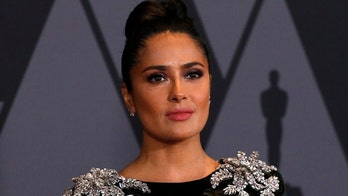 Salma Hayek meditates in ocean: 'We need to keep our cool'