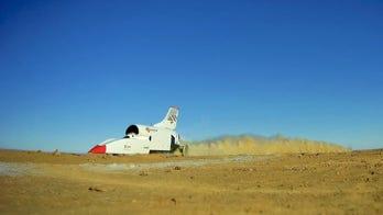 Used car deal? 628 mph Bloodhound LSR rocket car for sale