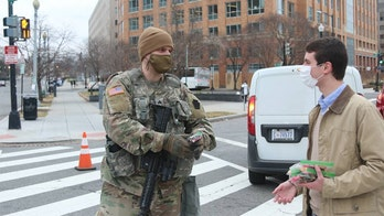 Pennsylvania Sen. Toomey thanks National Guard troops protecting Capitol with sweets