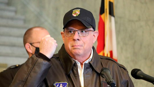 Maryland Gov. Larry Hogan tweets photo after skin cancer removal: 'No pain, no gain'