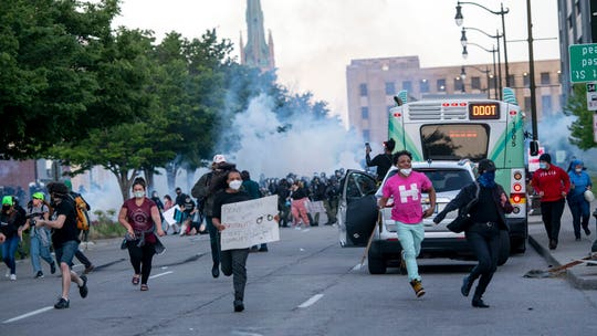 Detroit to dismiss some tickets issued during Floyd protests