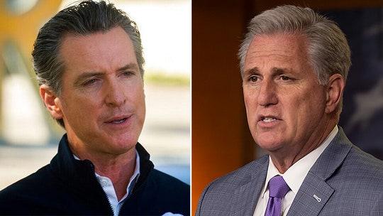 McCarthy: California's Newsom hiding data used to justify lockdowns