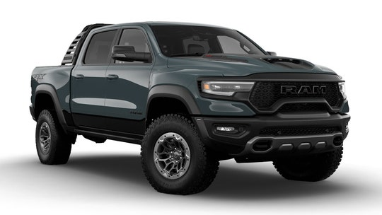 Million-dollar muscle truck? Ram auctioning world's most powerful pickup to help veterans
