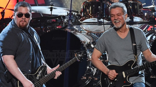 Eddie Van Halen remembered by son Wolfgang as he celebrates first No. 1 song: 'I wish Pop was here to see it'