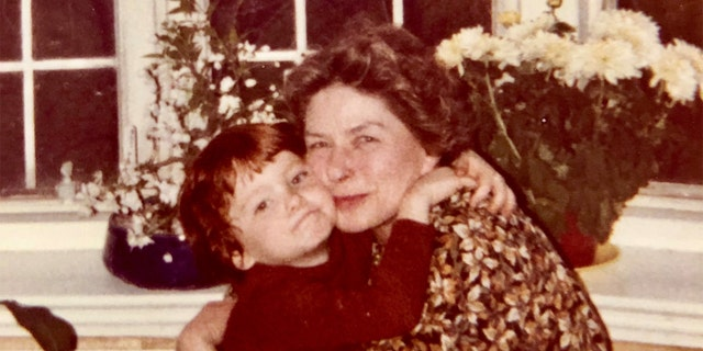 Justin Daly said his grandmother Ingrid Bergman loved to play and enjoyed cartoons.