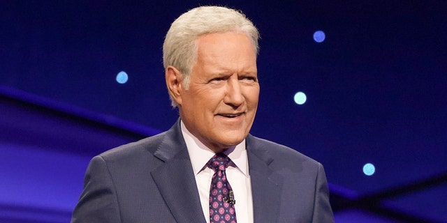Alex Trebek's wardrobe has been donated by this family and 'Jeopardy!' to The Doe Fund, who will give the clothes to those re-entering the job market. (Eric McCandless/ABC via Getty Images) ALEX TREBEK