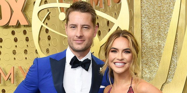 Justin Hartley (left) and Chrishell Stause (right) have reportedly finalized their divorce. (Photo by Frazer Harrison/Getty Images)