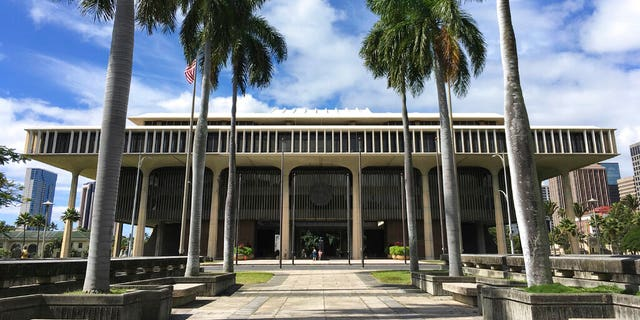 The Hawaii State Capitol in Honolulu.