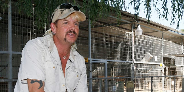 Joe Exotic is 'absolutely confident' Donald Trump will pardon him today