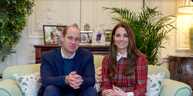 Prince William and Kate Middleton secretly got a new puppy at the end of last year, a new report claims. (Kensington Palace via AP)