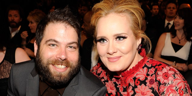 Simon Konecki and Adele share an 8-year-old son, Angelo. (Photo by Kevin Mazur/WireImage)