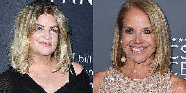 Kirstie Alley fired back at comments Katie Couric made about Donald Trump supporters during a recent TV appearance.