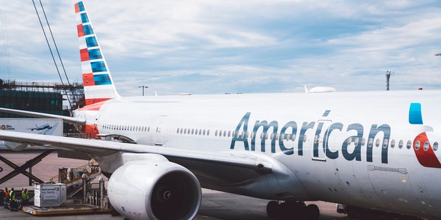 A two-time cancer survivor traveling with American Airlines was reportedly told to cover up a sweatshirt with a message championing her recovery. (iStock).
