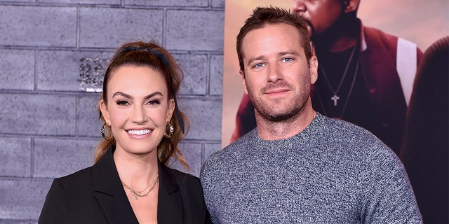Elizabeth Chambers (left) and Armie Hammer (right) announced their split last July after 10 years of marriage.