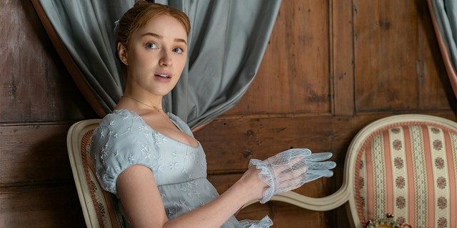 Phoebe Dynevor, a British actress, stars as Daphne Bridgerton in Netflix's hit period drama 'Bridgerton.'