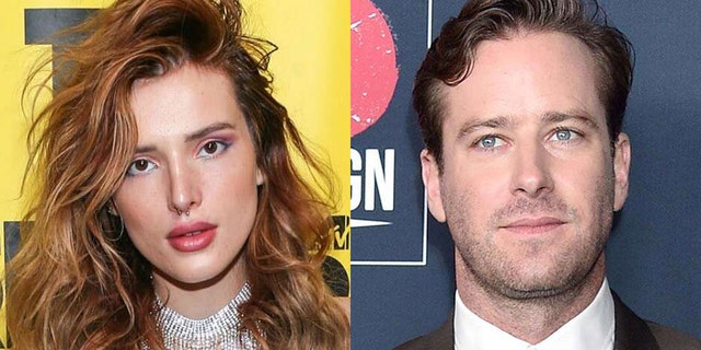 Bella Thorne defended Armie Hammer against 'cannibal' allegations on Friday.