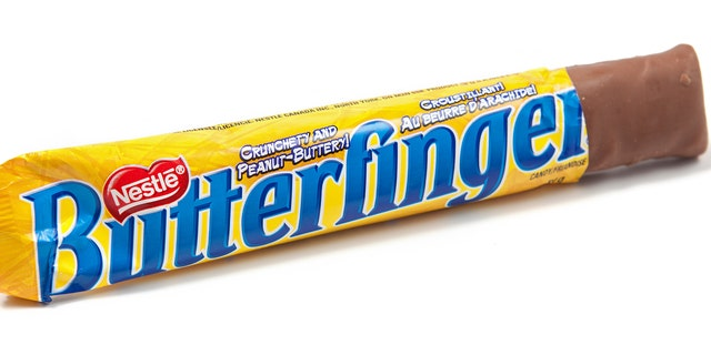 Butterfinger teased a possible new product -- its own peanut butter -- 本周早些时候. (iStock)