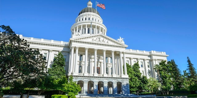 California State Capitol Building in Sacramento, CA, USA