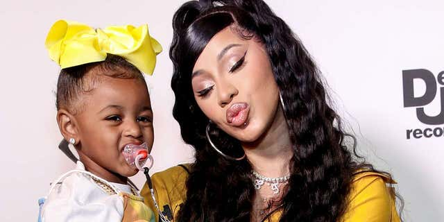 Cardi B will not allow her youthful daughter Kulture listen to 'WAP'
