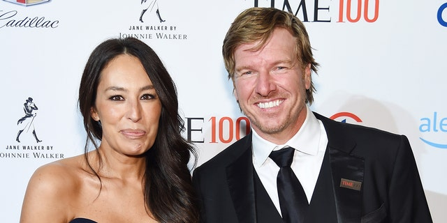 Joanna and Chip Gaines are pictured in 2019. Their lifestyle brand Magnolia will be releasing a new line of bed linens later this week, according to reports. (Photo by Larry Busacca/Getty Images for TIME)