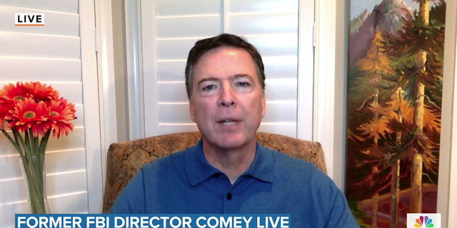 """James Comey appeared virtually to discuss his new book, """"Saving Justice: Truth, Transparency and Trust,"""" with Savannah Guthrie but viewers quickly rushed to Twitter to express disdain for the ex-FBI boss."""