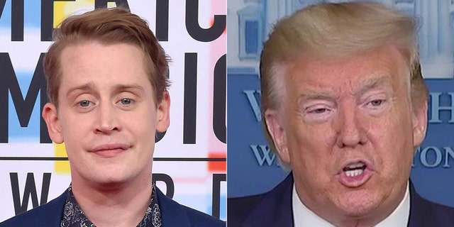 Macaulay Culkin agreed with a fan who posed the idea that Donald Trump should be digitally removed from'Home Alone 2 Lost in New York