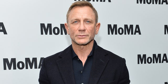 Craig will star as James Bond one final time in October's 'No Time to Die.'