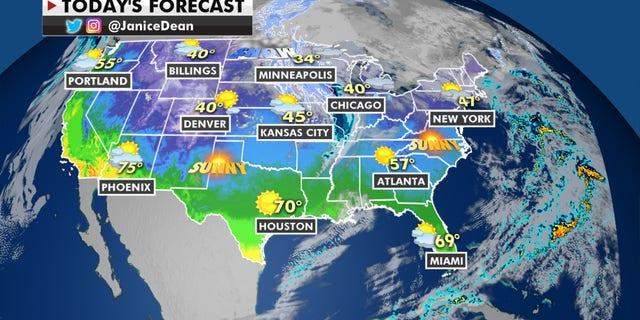 Forecast for Jan. 14, 2021.
