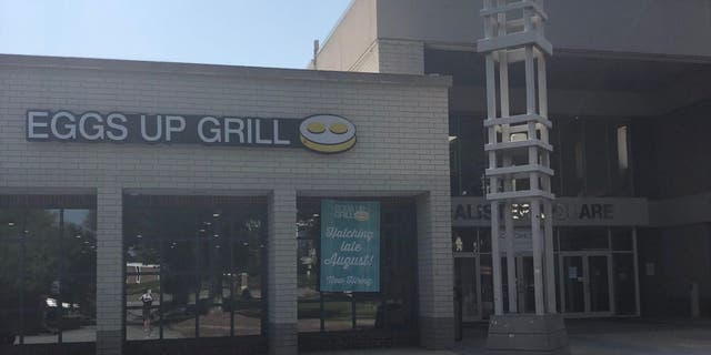 Pictured here is the Eggs Up Grill location at McAlister Square in Greenville, S.C. The restaurant chain has four locations in the city. (Eggs Up Grill)