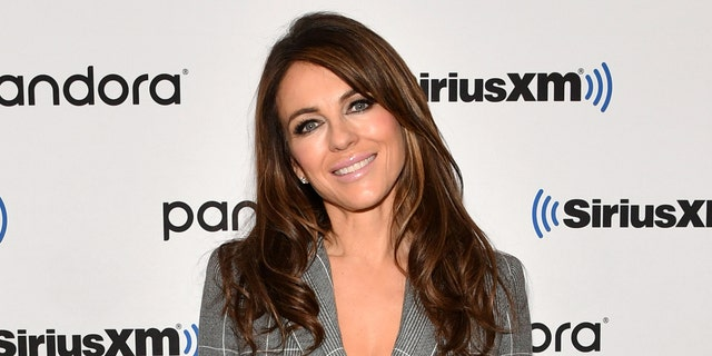 Elizabeth Hurley recently shared a topless photo on Instagram, which drew praise from fans, but also found some critics. (Photo by Slaven Vlasic/Getty Images)