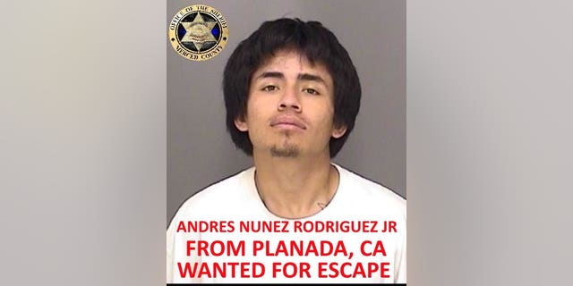 Andres Nunez Rodriguez Jr. (Photo courtesy of Merced County Sheriff's Office)