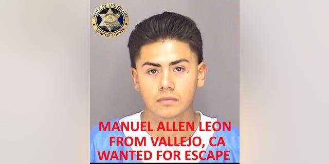 Manuel Allen Leon (Photo courtesy of Merced County Sheriff's Office)