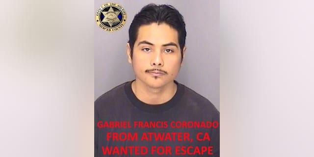 Gabriel Francis Coronado (Photo courtesy of Merced County Sheriff's Office)