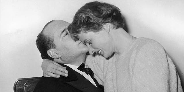 Director Roberto Rossellini and actress Ingrid Bergman were married from 1950 fino a 1957.